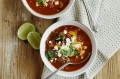 Mexican beef and bean soup