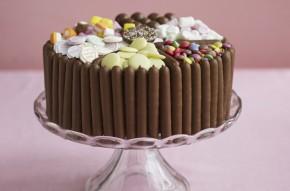 Pick and mix cake