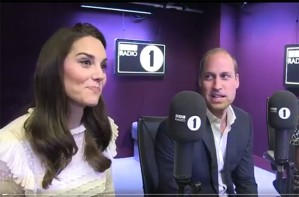 Kate and William Radio 1