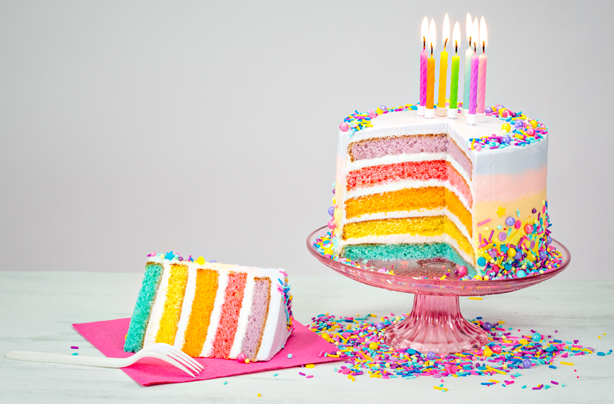Rainbow cake recipe - goodtoknow