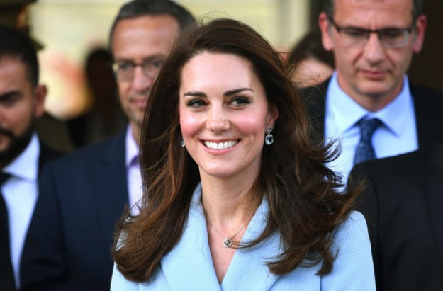 Princess Kate visits Luxembourg on solo royal tour