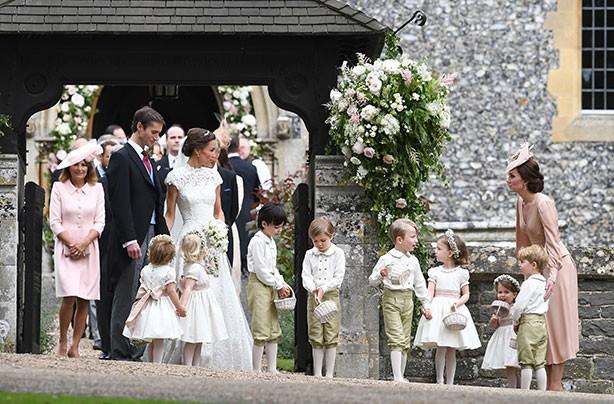 Prince George Princess Charlotte Pippa wedding