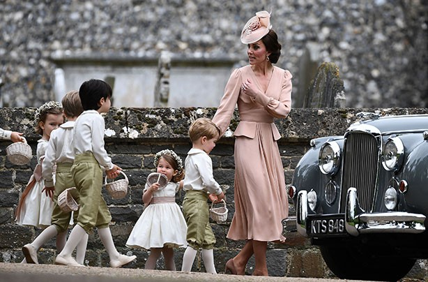 Princess Charlotte, Pippa's wedding