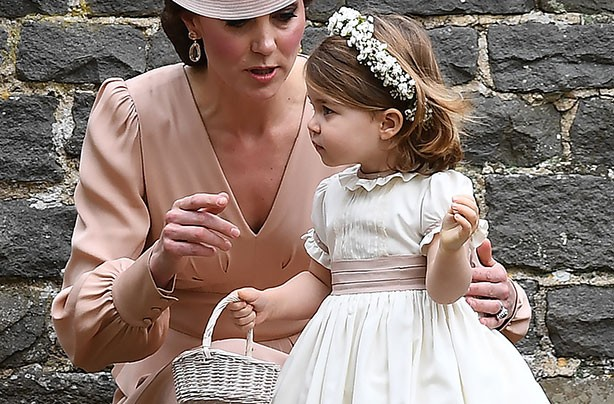 Princess Charlotte, Pippa's wedding