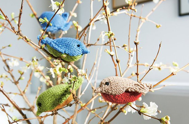 Free knitting patterns UK: Baby Birds