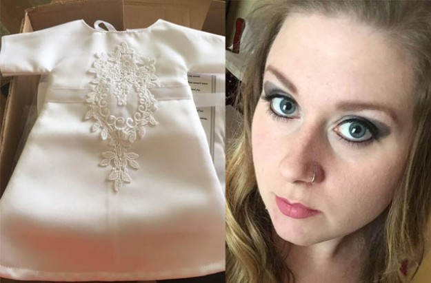 A Mum Has Donated Her Wedding Dress So That It Could Be Turned Into Angel Dresses