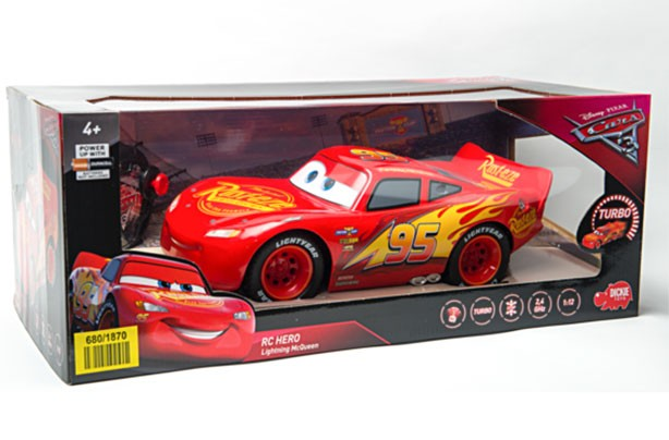 Top toys for Christmas 2017: Disney Cars 3 Lightning McQueen, Simba Smoby