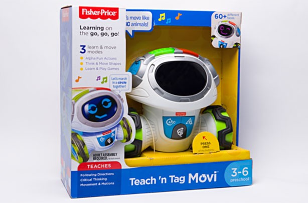 Top toys for Christmas 2017: Fisher-Price Think & Learn Teach 'n Tag Movi,