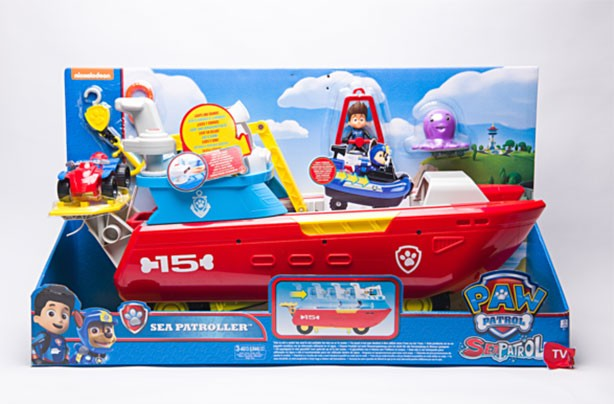 Top toys for Christmas 2017: Paw Patrol Sea Patroller