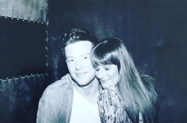 Lea Michele pays tribute to Cory Monteith: 'We miss you C'