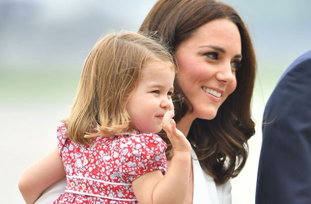 Princess Charlotte is the real Queen in the Royal Household, apparently…