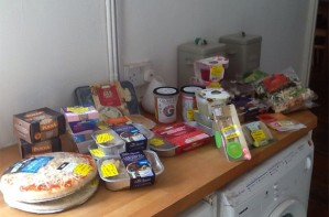 Lisa Parry food haul