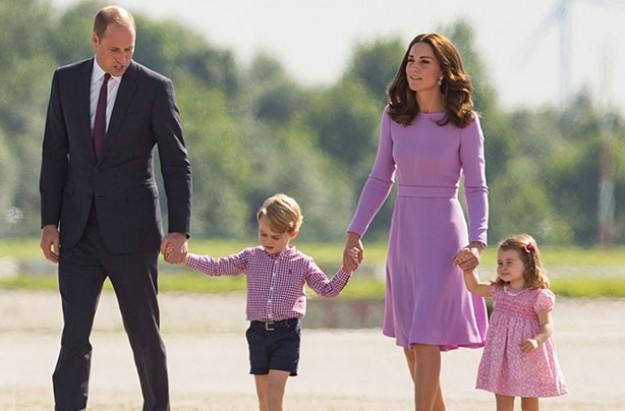 Prince William, Kate, Prince George, Princess Charlotte