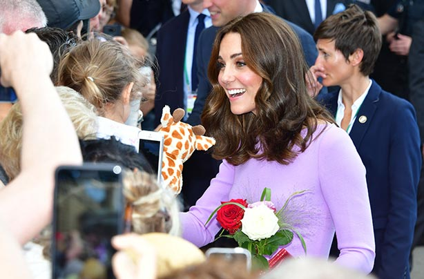 Kate Middleton donates hair to children's charity