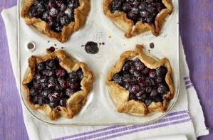 gluten free blueberry pies
