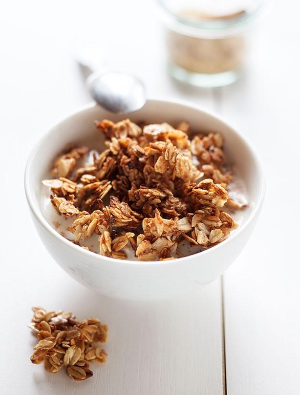 Healthy cereal, breakfast