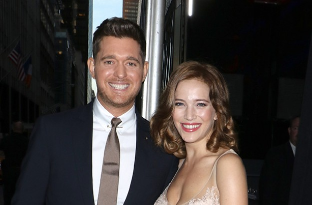 Michael Bublé and Luisana Lopilato