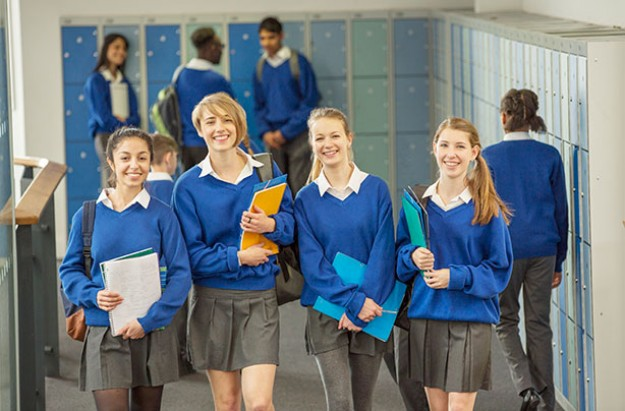 """debate about uniforms in schools """"uniforms show that you are part of an organisation wearing it says we're all in this together,"""" jason wing, head teacher at the neale-wade academy in cambridgeshire, says wearing it says we're all in this together,"""" jason wing, head teacher at the neale-wade academy in cambridgeshire, says."""