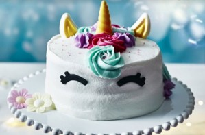 ASDA Unicorn Birthday Cake