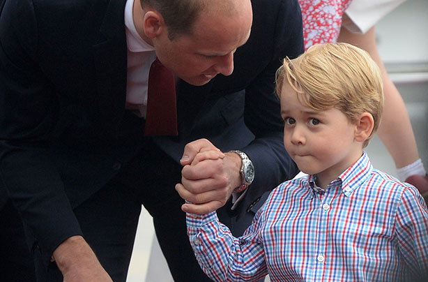 Prince william and kate might shun royal tradition and for Achillion greek cuisine prince george bc