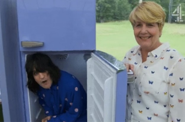 Noel Fielding Sparks Complaints With Fridge Antics