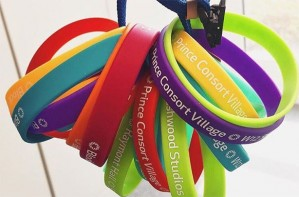 Campus living wristbands