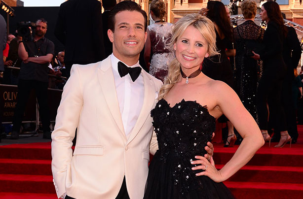 Carley Stenson and Danny Mac marry in a 'magical' New ...