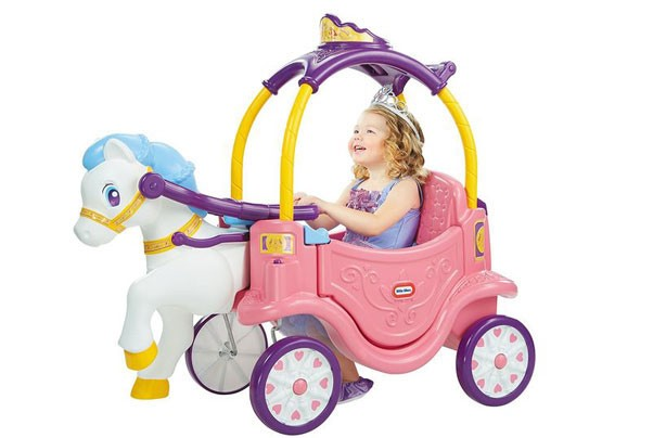 Top toys for Christmas 2017: Little Tikes Princess Cozy Chariot