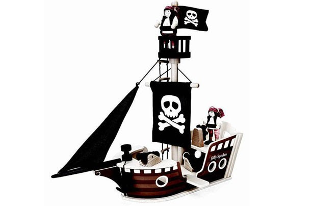 Top toys for Christmas 2017: John Lewis Wooden Pirate Ship