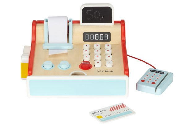 Top toys for Christmas 2017: John Lewis wooden cash register