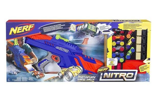Top toys for Christmas 2017: NERF Nitro Motor Fury Rapid Rally Die-Cast Toy