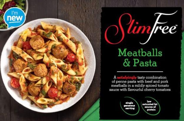 Aldi Slim free Meatballs