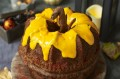 pumpkin shaped cake