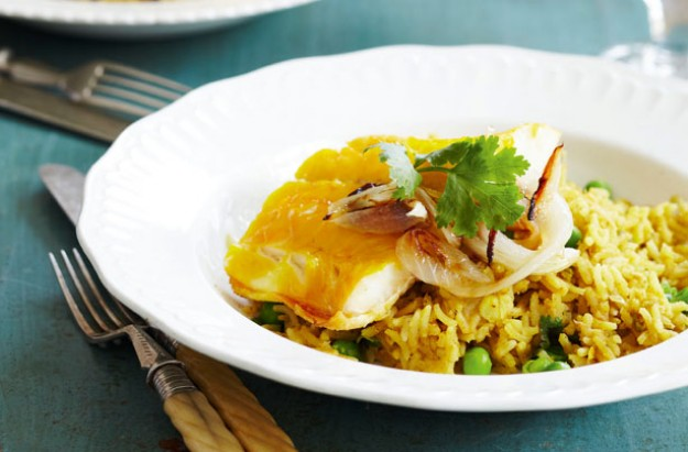 haddock and rice