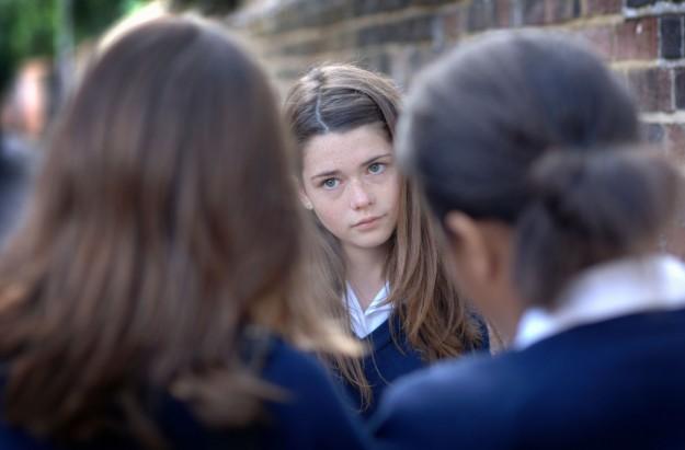 Bullied girl periods