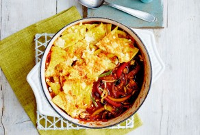 veggie chilli pie