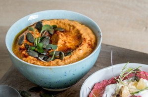 roast red pepper hummus recipe