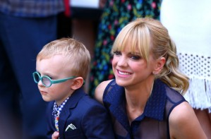 Anna Faris and Jack