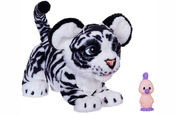 Top toys for Christmas 2017: Fur Real Roarin' Ivory the Playful White Tiger Soft Toy