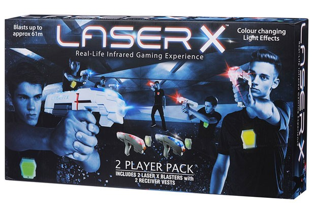 Top toys for Christmas 2017: Laser X Two Player Laser Tag Game