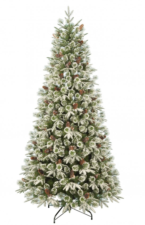 Large artificial Christmas tree, £60, Homebase