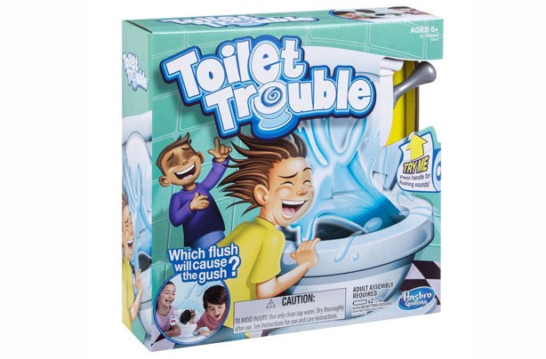 Top toys for Christmas 2017: Toilet Trouble