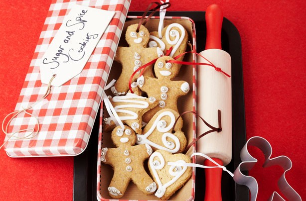 Christmas biscuits recipes: Sugar and spice cookies