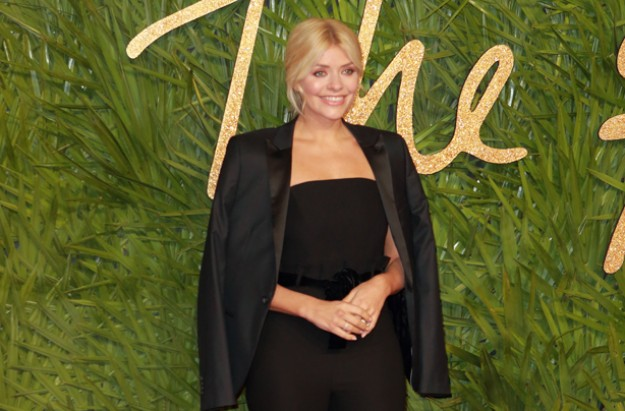 Holly Willoughby British Fashion Awards