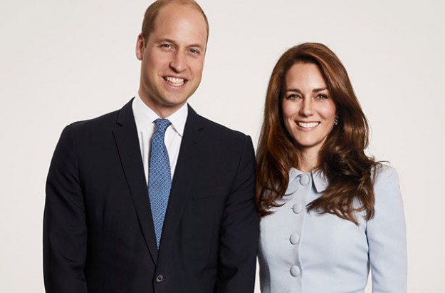 William and Kate Christmas card