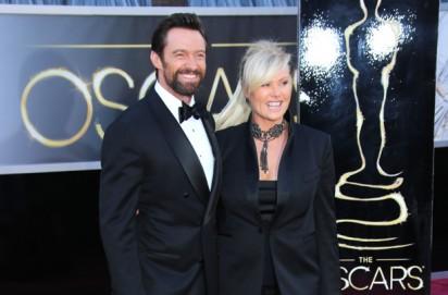 Hugh Jackman and wife Deborah