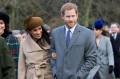 Meghan Markle and Prince Harry on Christmas Day