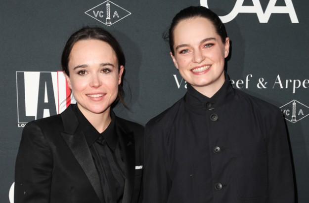 Actor Ellen Page announces her wedding to Emma Portner