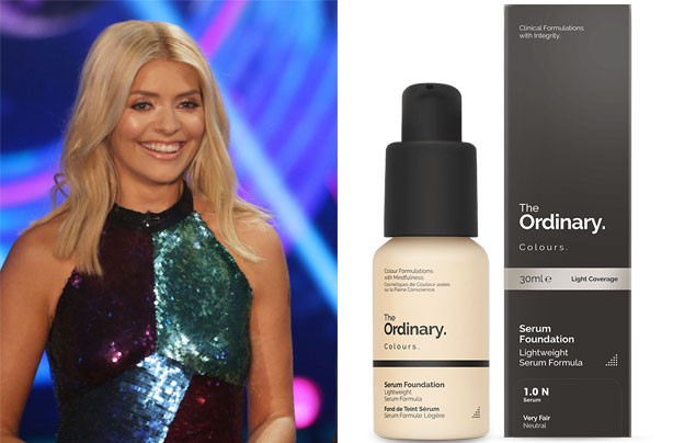 Holly Willoughby £5.70 foundation