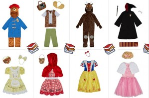 World Book Day costumes Asda